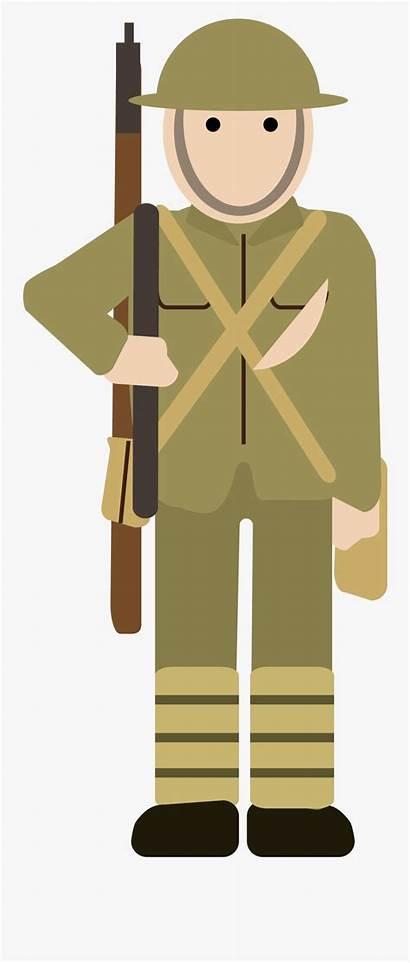 Ww1 Cartoon War Clipart Military Simple Clipartkey