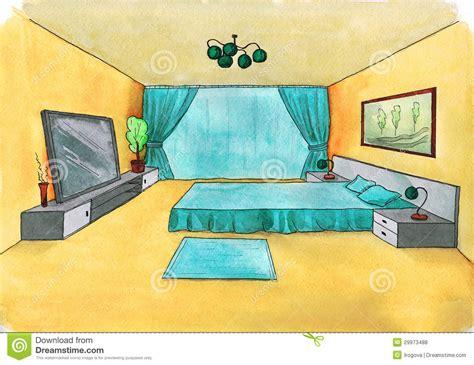 croquis chambre a coucher croquis graphique d une chambre à coucher intérieure
