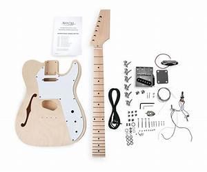 Gitarre Selber Bauen : rocktile hollowbody tl e gitarre bausatz selber bauen do it yourself kit diy set ebay ~ Watch28wear.com Haus und Dekorationen
