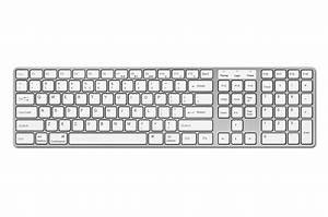 N-Line White Windows Keyboard | AVANCA®
