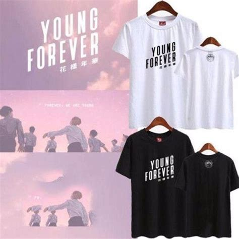 BTS u0026quot;Young Foreveru0026quot; Tshirt - The Kdom