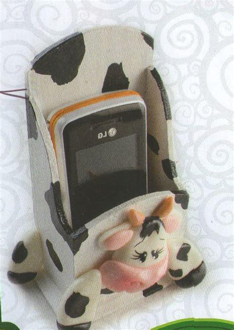 como hacer una vaca porta celular mimundomanual