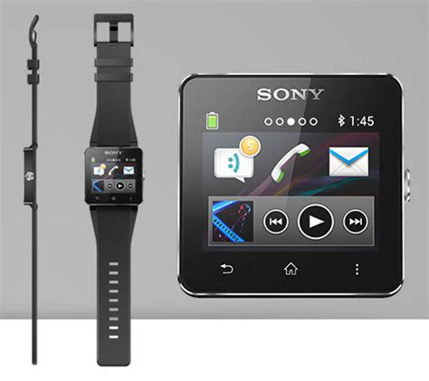 sony announces water resistant smartwatch 2 with nfc
