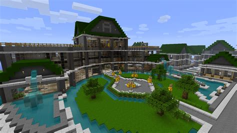 minecraft maison de luxe thinglink