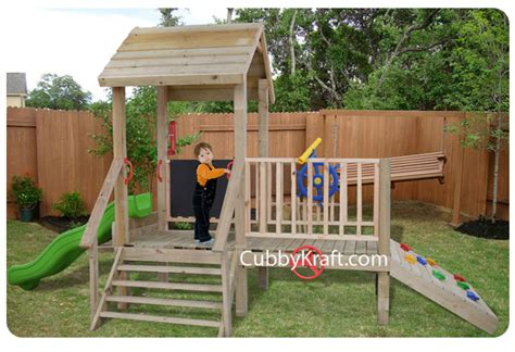 Turtle Tower Cubby Fort Backyard Playhouses By Cubbykraft