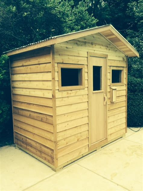 Outdoor Saunas Custom Made And Installed By Peterson Sauna