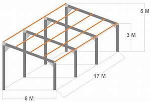 Hangar Metallique En Kit D Occasion : plan hangar bois monopente bw33 jornalagora ~ Nature-et-papiers.com Idées de Décoration