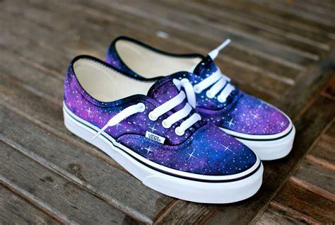Vans Shoes : Galaxy Vans Shoes Custom Hand Painted Galaxy On Vans