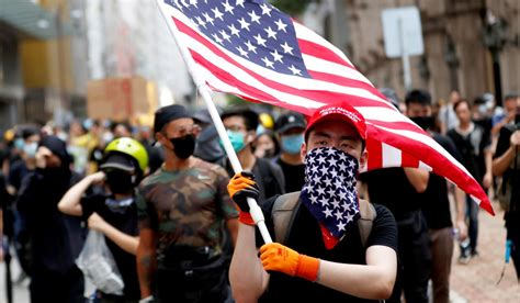 hong kong protests democracy  power     national review