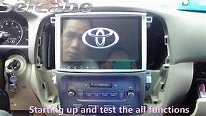 How To Install A 10 1 Inch Toyota Land Crusier 100 Before 2004 Gps Radio With Bluetooth
