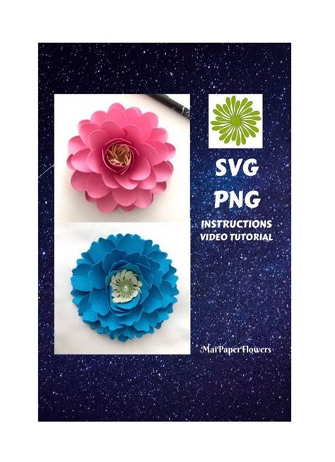 small paper flowers templates svg png small paper