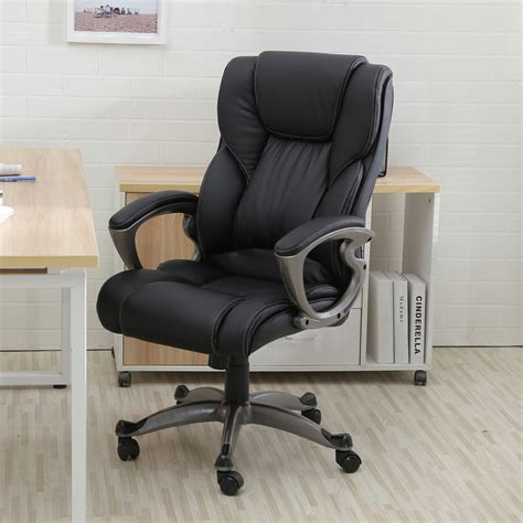 bureau high executive office chair high back task ergonomic computer