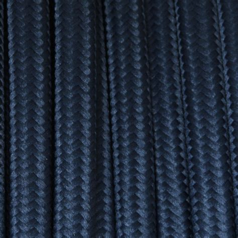 cloth covered l wire dark blue flat cloth covered wire 250 ft roll