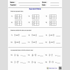 Ratio Worksheets  Ratio Worksheets For Teachers