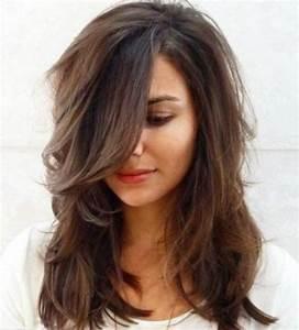 Coiffure Femme Mi Long : coupe cheveux mi long coiffure simple et facile ~ Melissatoandfro.com Idées de Décoration