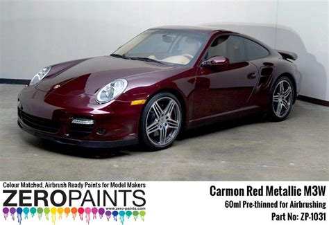 porsche red paint code porsche paints 60ml zp 1031 zero paints