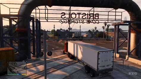 Grand Theft Auto 5 Big Rig Truck Driving Gameplay Hd