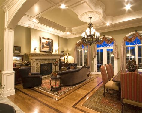 Great Rooms : Custom Great Room Photographs Drawn By Studer Residential