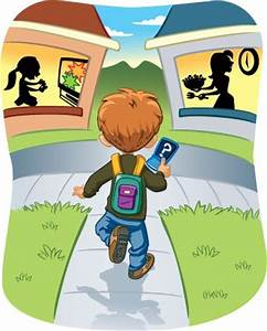 clip art child walking home - Google Search | Images for ...