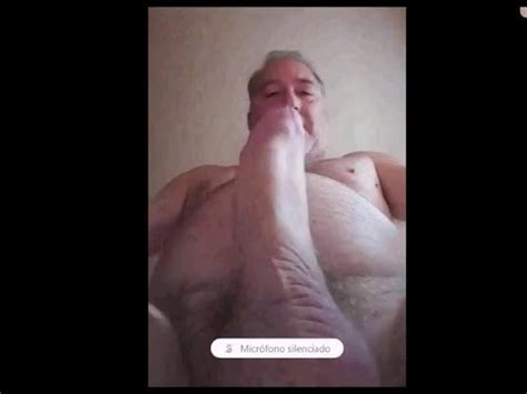 Spanish Daddy Big Cock Stroking His Big Cock Gay Porn E6