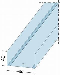 U Profil Trockenbau Maße : uw 50 profile wandprofile uw50 l nge 2600 mm ~ A.2002-acura-tl-radio.info Haus und Dekorationen