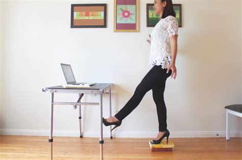 desk swing for legs pendulum leg swings hip flexors highbrow learn