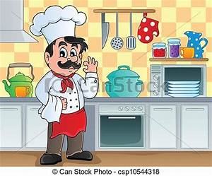 Kitchen Center Clipart - Clipart Suggest