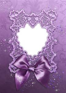 Purple Heart Borders and Frames