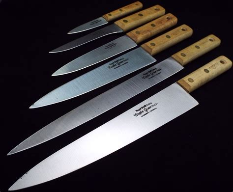 Gourmet Kitchen Knives by Details About Carbon Steel Regent Sheffield Eagle Gourmet