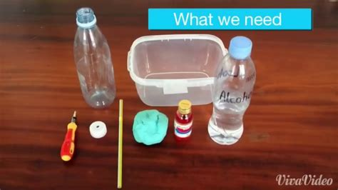 How To Make Homemade Thermometer Youtube