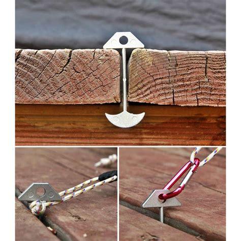 wooden floor accessories deck wood floor anchor tent peg adjustable length cing accessories