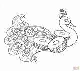 Peacock Rangoli Coloring Pages Printable Drawing Easy Outlines Feathers Supercoloring Crafts Mandala Malvorlagen Template Select Patterns Category Erwachsene Pencil Bilder sketch template