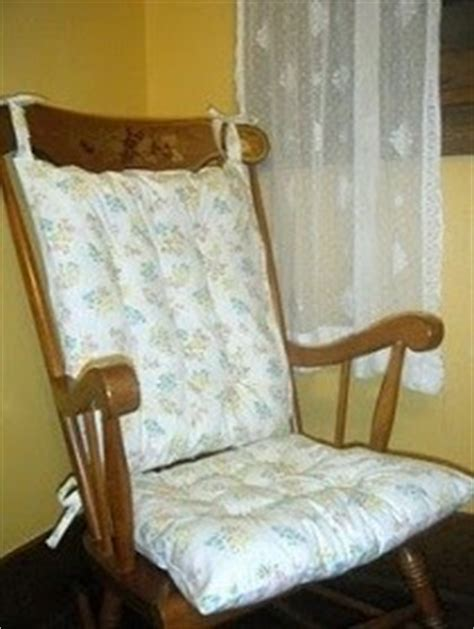 tutorial make new cushions for your rocking chair sewing