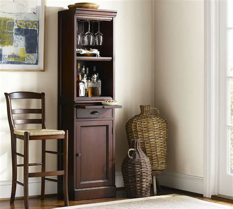 kitchen tower cabinet modular bar with cabinet tower pottery barn 3380