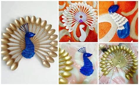 peacock wall hanging simple craft ideas
