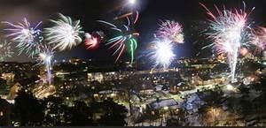 Swedish New Year Fireworks
