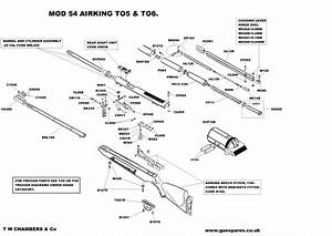 Rws Model 34 Parts Diagram