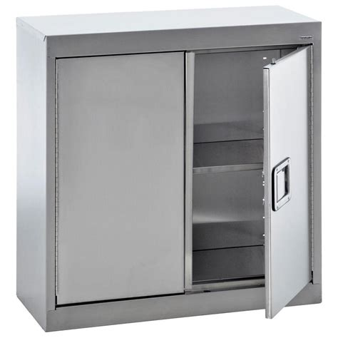 stainless steel wall cabinets kitchen sandusky 30 in h x 30 in w x 12 in d stainless steel 8301