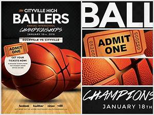 basketball flyer template flyerheroes With basketball tournament program template