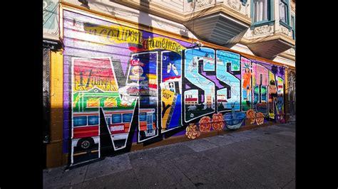 San Franciscos Mission Street murals speak of the citys ...