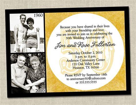 50th anniversary invitations templates 50th anniversary invitation golden gold anniversary wedding invite printable digital