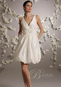 Robe Mariée Courte Pas Cher : robes blanches courtes mariage ~ Mglfilm.com Idées de Décoration
