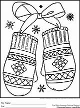 Coloring Winter Pages Preschool Colouring Printable Sheets Print Mittens Sheet Christmas Adult Snow Adults Miracle Timeless Holiday Theme Happy Season sketch template