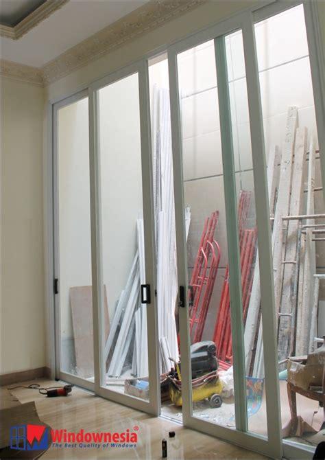 harga jendela aluminium putih kusen aluminium putih
