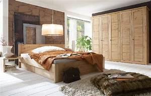 Massivholz Schlafzimmer Rauna Echtholz Kiefer Massiv