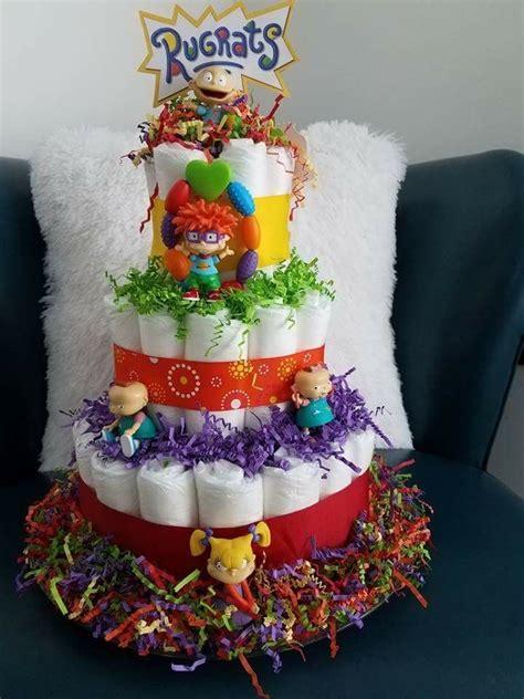 Rugrats Baby Shower Rugrats Diaper Cake Diaper Cake Baby Shower Cake