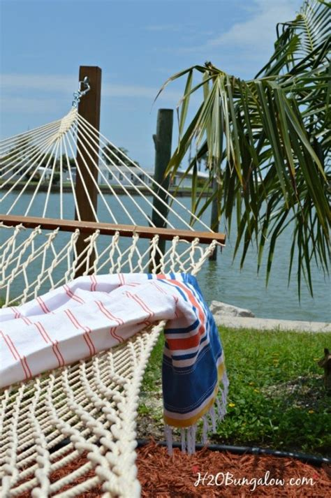Hammock Posts Diy by How To Build A Hammock Stand From Posts H20bungalow
