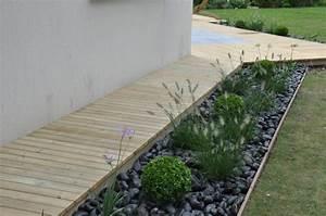 amenagement bordure terrasse dj creation bordures With idees deco jardin exterieur 13 amadera lincontournable de la decoration de jardin le