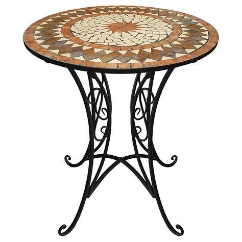 Runder Mosaik Tisch Ø70x72cm Bistro Mosaiktisch