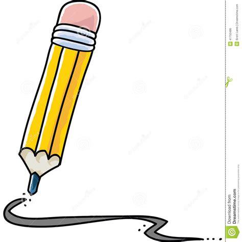 pencil  stock illustration illustration  sketching